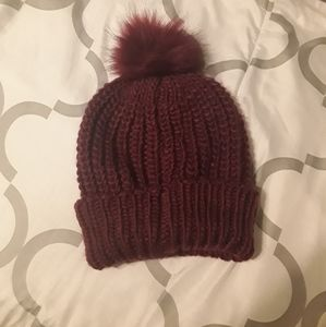 Beanie - Raspberry color